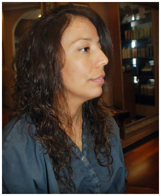 Brazilian Blowout after at LL Hair Studio salon in Houston, TX 77095